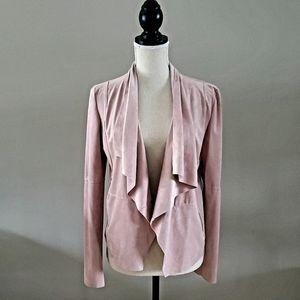 Bloomingdale's Bagatelle Faux Suede Draped Jacket
